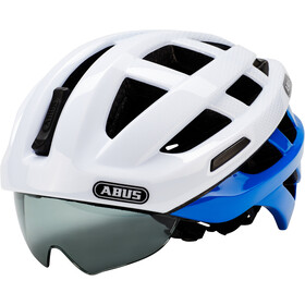 ABUS In-Vizz Ascent Fietshelm, blue comb